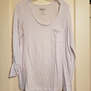 3/4 Sleeve White Shirt